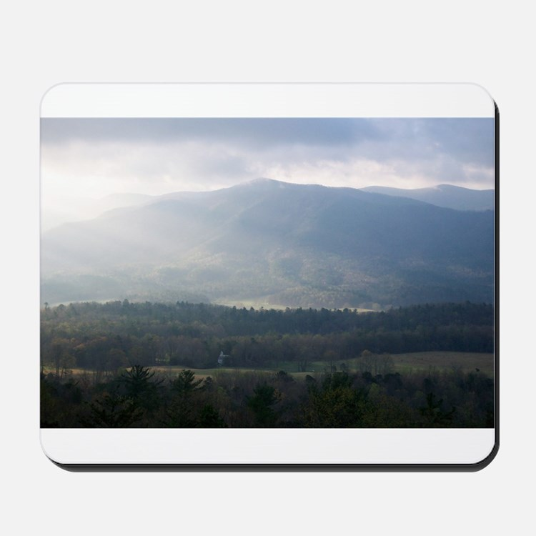 Smokey Mountain Morning Mousepad
