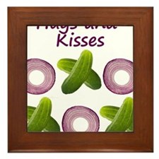 Hugs and Kisses with Onions and Pickles and XO's F