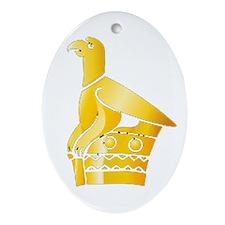 Great Zimbabwe Bird Ornament (Oval)