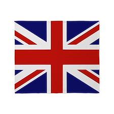 British Flag Throw Blanket
