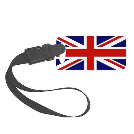 British Flag Small Luggage Tag