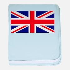 British Flag baby blanket