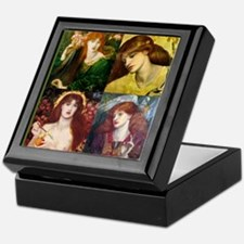 Rossetti Collage Keepsake Box