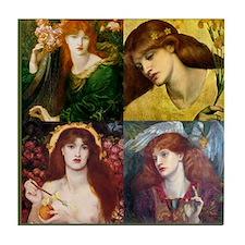 Rossetti Collage Tile Coaster