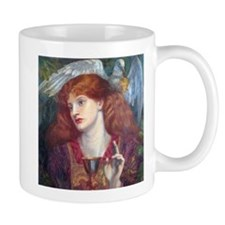 Rossetti Damsel Sanct Grael Mug