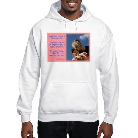 'Kindness Lifts' Hooded Sweatshirt