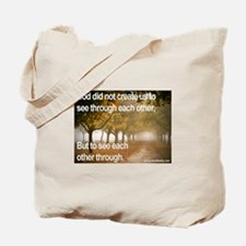 'Each Other' Tote Bag