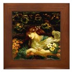 Rossetti Blessed Damozel Framed Tile