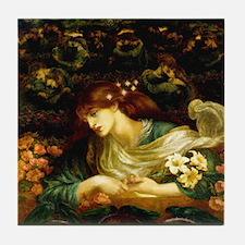 Rossetti Blessed Damozel Tile Coaster