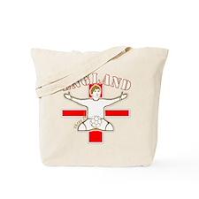 England St George Footballer Tote Bag