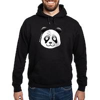 Go Panda! Hoodie (dark)