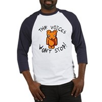 Teddy The Voices Won't Stop Baseball Jersey
