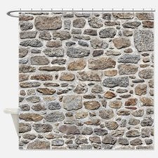 Natural Stone Shower Curtain