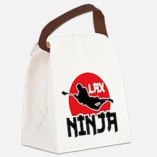 LAX Ninja Canvas Lunch Bag