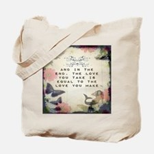 Vintage_Chick Love You Make Tote Bag