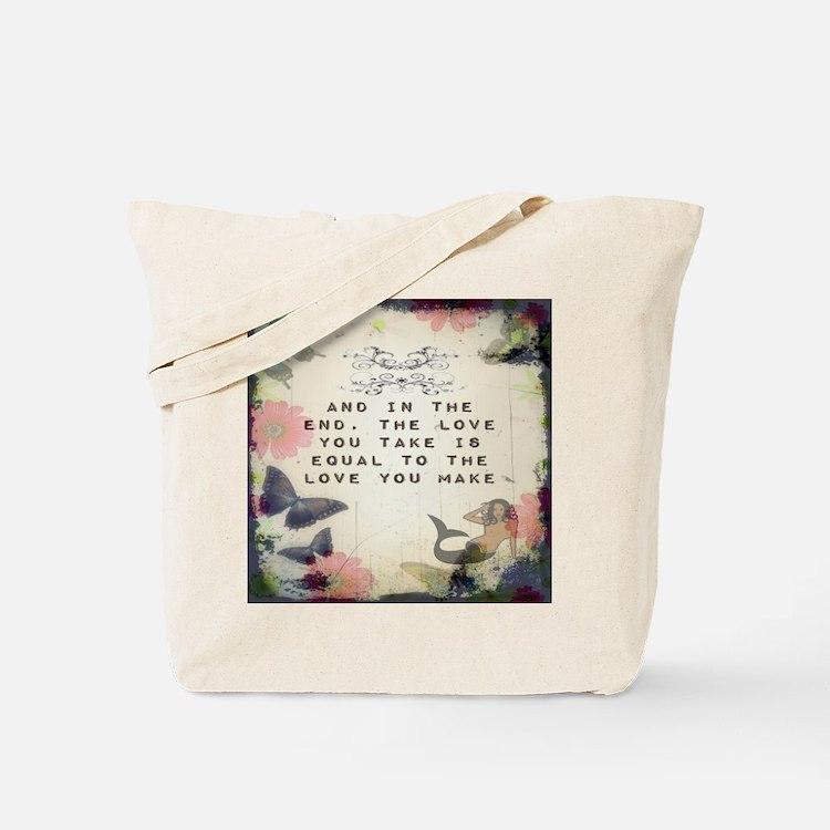 Vintage_Chick Love You Make Tote Bag