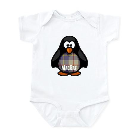 MacRae Tartan Penguin Infant Bodysuit