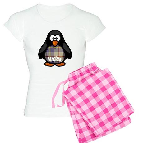 MacRae Tartan Penguin Women's Light Pajamas