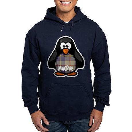 MacRae Tartan Penguin Hoodie (dark)