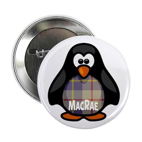 "MacRae Tartan Penguin 2.25"" Button"