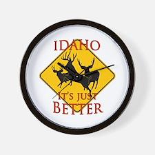 Idaho is better Wall Clock
