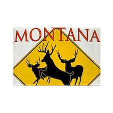 Montana is better Rectangle Magnet