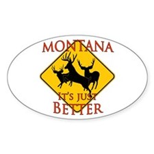Montana is better Decal