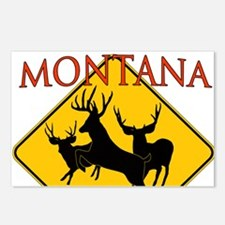 Montana is better Postcards (Package of 8)