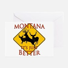 Montana is better Greeting Cards (Pk of 20)