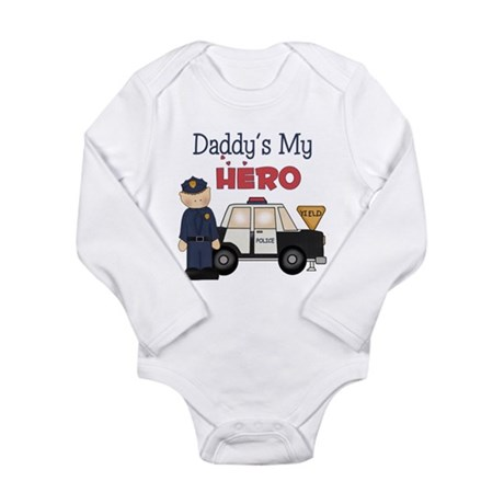 Daddy's My Hero Body Suit