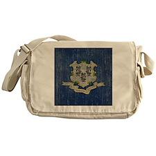 Vintage Connecticut Messenger Bag
