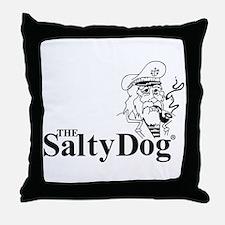 Original Salty Dog Throw Pillow