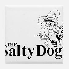 Original Salty Dog Tile Coaster