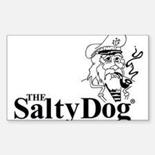Original Salty Dog Decal