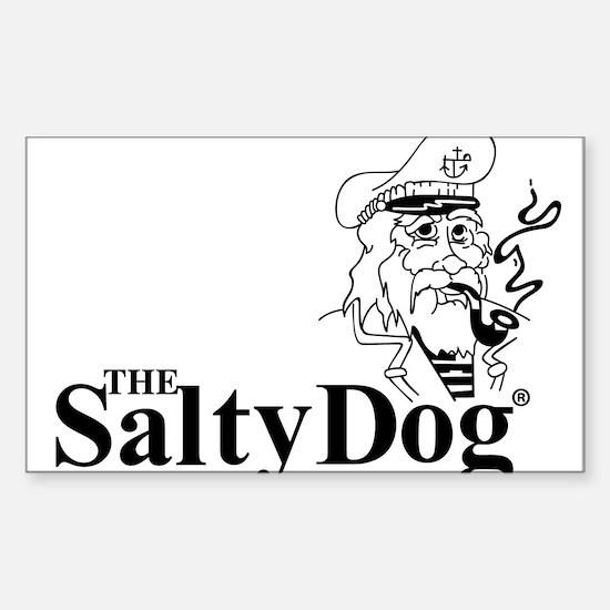 Original Salty Dog Sticker (Rectangle)