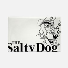 Original Salty Dog Rectangle Magnet