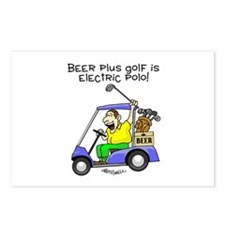 Electric Polo Postcards (Package of 8)