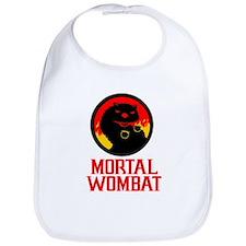 Mortal Wombat Bib