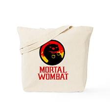Mortal Wombat Tote Bag