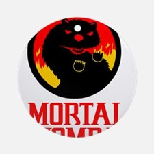 Mortal Wombat Ornament (Round)