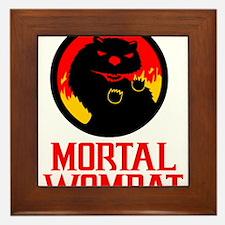 Mortal Wombat Framed Tile