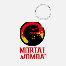 Mortal Wombat Aluminum Photo Keychain