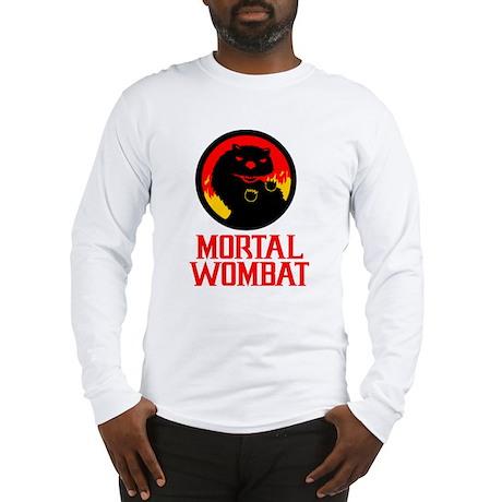 Mortal Wombat Long Sleeve T-Shirt
