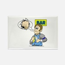 Bartender Rectangle Magnet