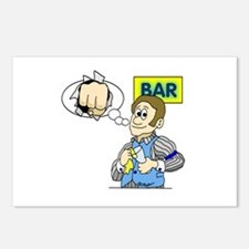 Bartender Postcards (Package of 8)