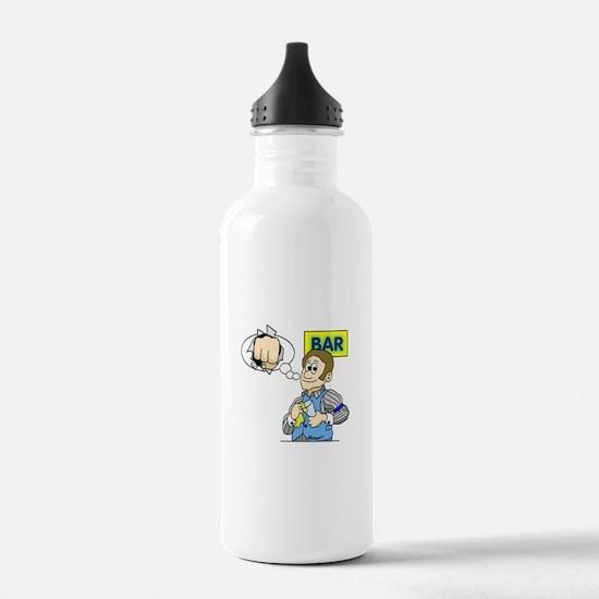 Bartender Water Bottle