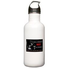 Pro-Life Have A Heart Don't Stop one Water Bottle