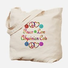 Abyssinian Cats Tote Bag
