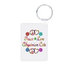 Abyssinian Cats Keychains
