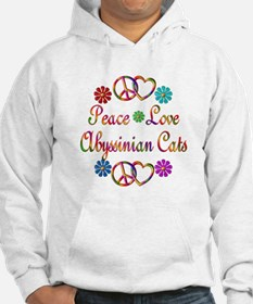 Abyssinian Cats Hoodie